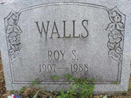 WALLS, ROY S. - Pike County, Ohio | ROY S. WALLS - Ohio Gravestone Photos