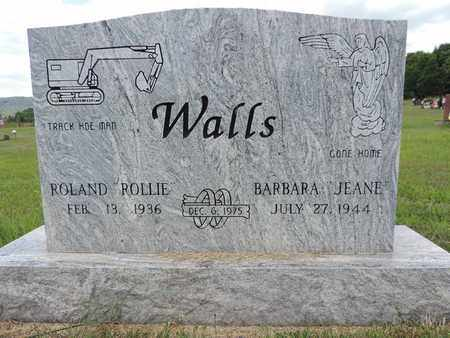 WALLS, BARBARA - Pike County, Ohio | BARBARA WALLS - Ohio Gravestone Photos