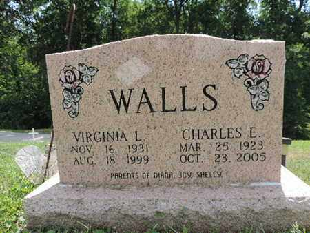 WALLS, CHARLES E. - Pike County, Ohio | CHARLES E. WALLS - Ohio Gravestone Photos