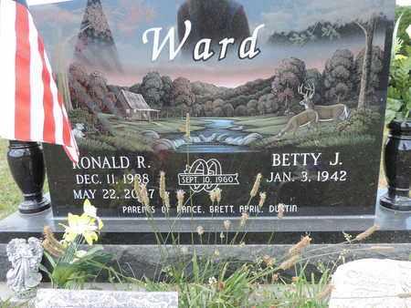 WARD, BETTY J. - Pike County, Ohio | BETTY J. WARD - Ohio Gravestone Photos