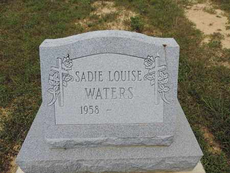 WATERS, SADIE LOUISE - Pike County, Ohio | SADIE LOUISE WATERS - Ohio Gravestone Photos