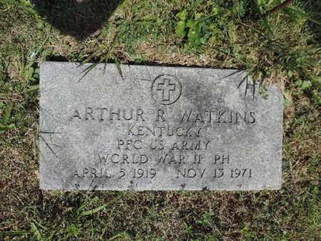 WATKINS, ARTHUR R. - Pike County, Ohio | ARTHUR R. WATKINS - Ohio Gravestone Photos