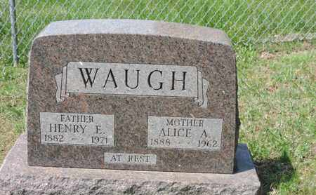 WAUGH, HENRY E - Pike County, Ohio | HENRY E WAUGH - Ohio Gravestone Photos