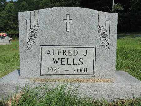 WELLS, ALFRED J. - Pike County, Ohio | ALFRED J. WELLS - Ohio Gravestone Photos