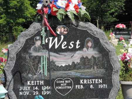 WEST, KRISTEN - Pike County, Ohio | KRISTEN WEST - Ohio Gravestone Photos