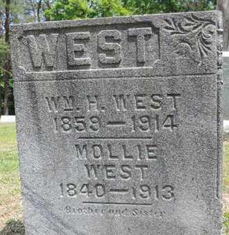 WEST, MOLLIE - Pike County, Ohio | MOLLIE WEST - Ohio Gravestone Photos
