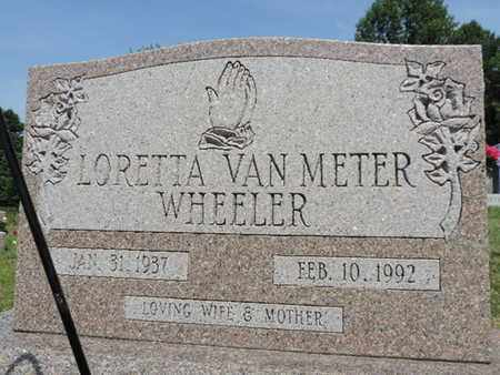 WHEELER, LORETTA - Pike County, Ohio | LORETTA WHEELER - Ohio Gravestone Photos