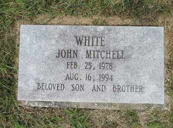 WHITE, JOHN MITCHELL - Pike County, Ohio | JOHN MITCHELL WHITE - Ohio Gravestone Photos