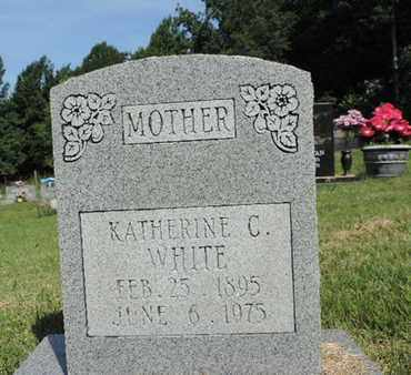 WHITE, KATHERINE C. - Pike County, Ohio | KATHERINE C. WHITE - Ohio Gravestone Photos
