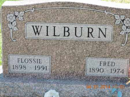 WILBURN, FLOSSIE - Pike County, Ohio | FLOSSIE WILBURN - Ohio Gravestone Photos