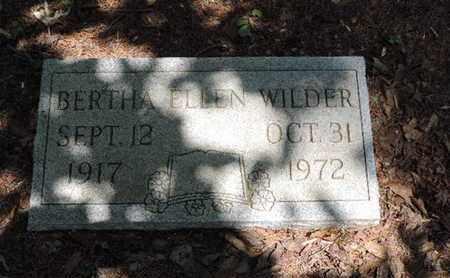 WILDER, BERTH ELLEN - Pike County, Ohio | BERTH ELLEN WILDER - Ohio Gravestone Photos