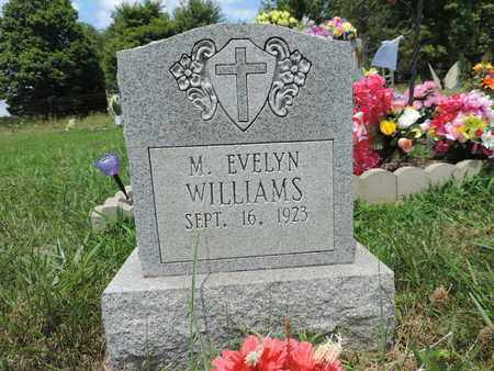 WILLIAMS, M. EVELYN - Pike County, Ohio | M. EVELYN WILLIAMS - Ohio Gravestone Photos