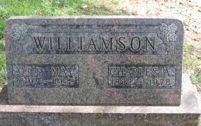 WILLIAMSON, OTIE MAY - Pike County, Ohio | OTIE MAY WILLIAMSON - Ohio Gravestone Photos