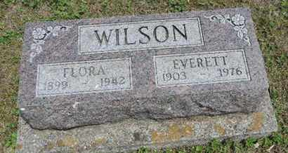WILSON, EVERETT - Pike County, Ohio | EVERETT WILSON - Ohio Gravestone Photos