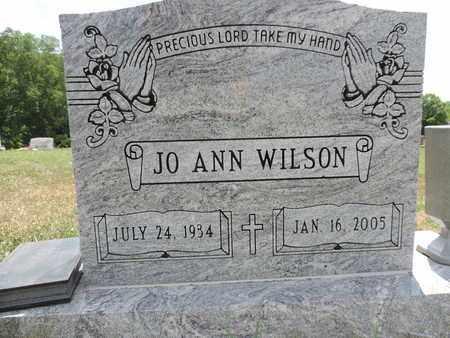WILSON, JO ANN - Pike County, Ohio | JO ANN WILSON - Ohio Gravestone Photos