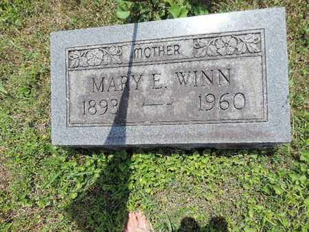 WINN, MARY E. - Pike County, Ohio | MARY E. WINN - Ohio Gravestone Photos