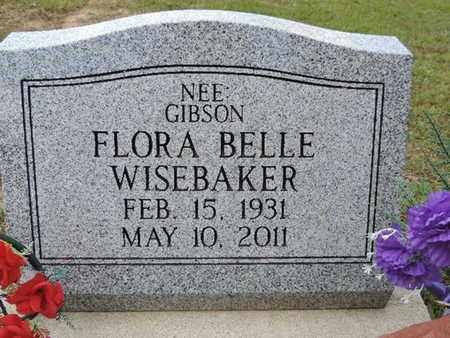 WISEBAKER, FLORA BELLE - Pike County, Ohio | FLORA BELLE WISEBAKER - Ohio Gravestone Photos