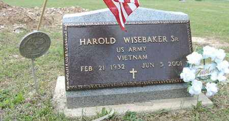 WISEBAKER, HAROLD - Pike County, Ohio | HAROLD WISEBAKER - Ohio Gravestone Photos