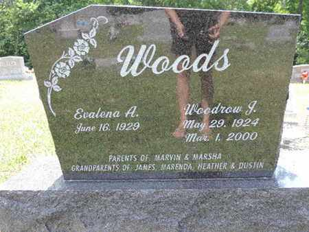 WOODS, WOODROW J. - Pike County, Ohio | WOODROW J. WOODS - Ohio Gravestone Photos