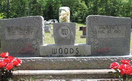 WOODS, RAYMOND E. - Pike County, Ohio | RAYMOND E. WOODS - Ohio Gravestone Photos