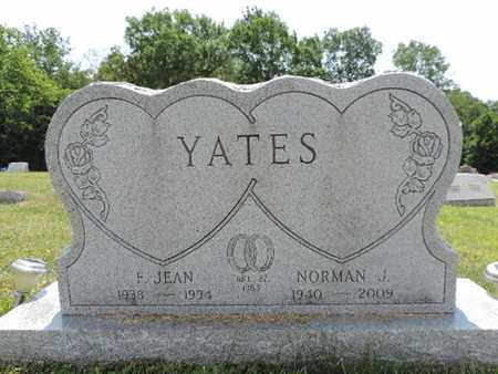 YATES, NORMAN J. - Pike County, Ohio | NORMAN J. YATES - Ohio Gravestone Photos
