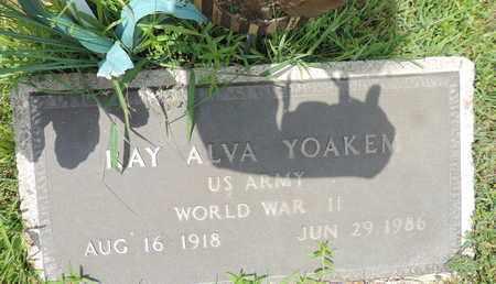 YOAKEM, RAY ALVA - Pike County, Ohio | RAY ALVA YOAKEM - Ohio Gravestone Photos