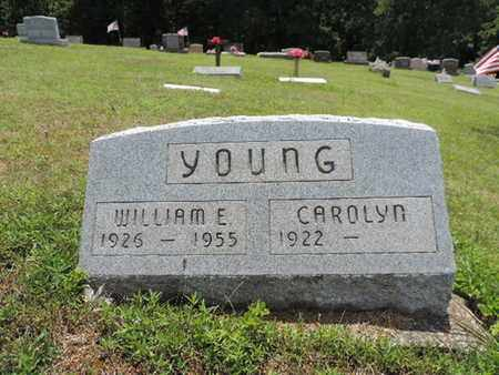 YOUNG, WILLIAM E. - Pike County, Ohio | WILLIAM E. YOUNG - Ohio Gravestone Photos