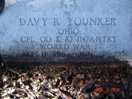 YOUNKER, DAVY R - Pike County, Ohio | DAVY R YOUNKER - Ohio Gravestone Photos