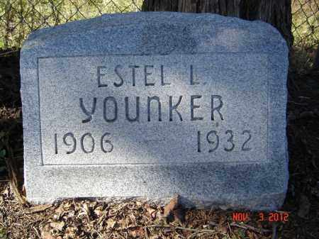 YOUNKER, ESTEL L - Pike County, Ohio | ESTEL L YOUNKER - Ohio Gravestone Photos