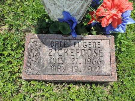 ZICKEFOOSE, DALE EUGENE - Pike County, Ohio | DALE EUGENE ZICKEFOOSE - Ohio Gravestone Photos