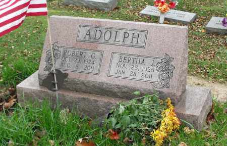 ADOLPH, ROBERT G. - Portage County, Ohio | ROBERT G. ADOLPH - Ohio Gravestone Photos