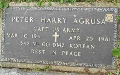 AGRUSA, PETER HARRY - Portage County, Ohio | PETER HARRY AGRUSA - Ohio Gravestone Photos