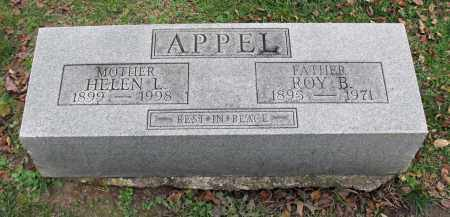 APPEL, ROY B. - Portage County, Ohio | ROY B. APPEL - Ohio Gravestone Photos