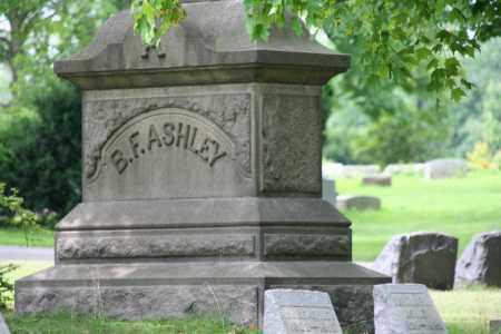 ASHLY, B.F. - Portage County, Ohio | B.F. ASHLY - Ohio Gravestone Photos