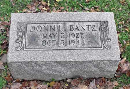 BANTZ, DONN L. - Portage County, Ohio | DONN L. BANTZ - Ohio Gravestone Photos