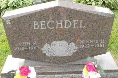 BECHDEL, MINNIE H - Portage County, Ohio | MINNIE H BECHDEL - Ohio Gravestone Photos