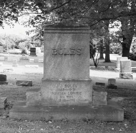 BOLES, J.J. - Portage County, Ohio | J.J. BOLES - Ohio Gravestone Photos