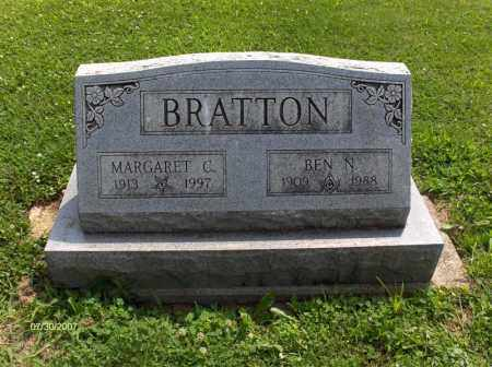 BRATTON, BENJAMIN NELSON - Portage County, Ohio | BENJAMIN NELSON BRATTON - Ohio Gravestone Photos