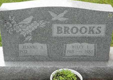 BROOKS, WILEY L - Portage County, Ohio | WILEY L BROOKS - Ohio Gravestone Photos