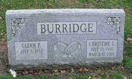BURRIDGE, CHRISTINE L. - Portage County, Ohio | CHRISTINE L. BURRIDGE - Ohio Gravestone Photos