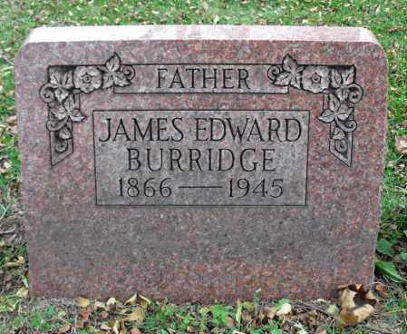 BURRIDGE, JAMES EDWARD - Portage County, Ohio | JAMES EDWARD BURRIDGE - Ohio Gravestone Photos