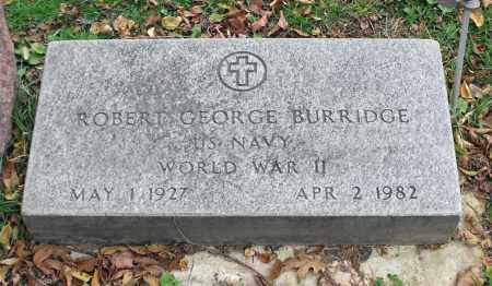BURRIDGE, ROBERT GEORGE - Portage County, Ohio | ROBERT GEORGE BURRIDGE - Ohio Gravestone Photos