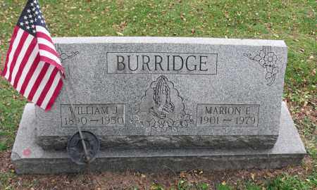 ZOTON BURRIDGE, MARION E. - Portage County, Ohio | MARION E. ZOTON BURRIDGE - Ohio Gravestone Photos