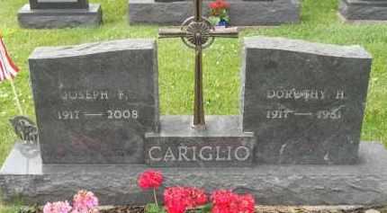 CARIGLIO, DOROTHY H - Portage County, Ohio | DOROTHY H CARIGLIO - Ohio Gravestone Photos