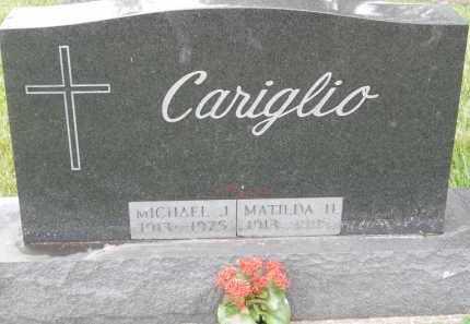CARIGLIO, MICHAEL J - Portage County, Ohio | MICHAEL J CARIGLIO - Ohio Gravestone Photos