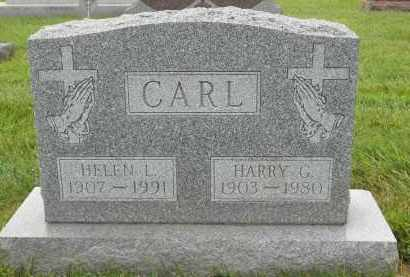 CARL, HELEN L - Portage County, Ohio | HELEN L CARL - Ohio Gravestone Photos