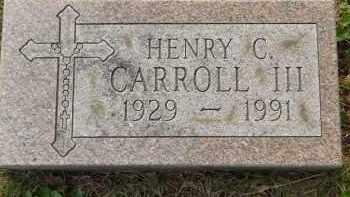 CARROLL, HENRY C - Portage County, Ohio | HENRY C CARROLL - Ohio Gravestone Photos