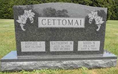 CETTOMAI, KATHERINE M - Portage County, Ohio | KATHERINE M CETTOMAI - Ohio Gravestone Photos