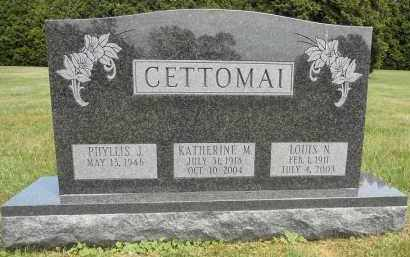 CETTOMAI, LOUIS N - Portage County, Ohio | LOUIS N CETTOMAI - Ohio Gravestone Photos