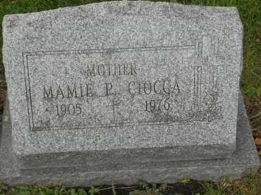 CIOCCA, MAMIE P - Portage County, Ohio | MAMIE P CIOCCA - Ohio Gravestone Photos